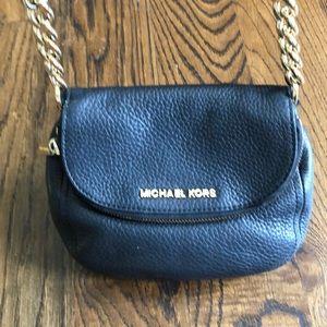Michael Kors Saffiano Leather Cross-Body Bag
